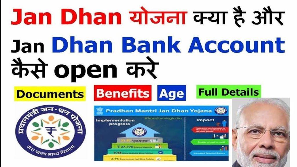 Jan Dhan Bank Account Apply Online