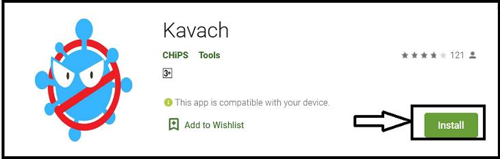 Chhattisgarh Kavach Mobile App