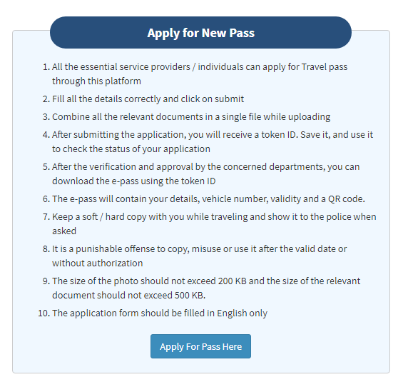 maharashtra pravasi pass online