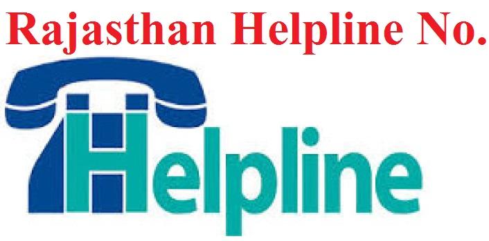 Rajasthan Helpline Number