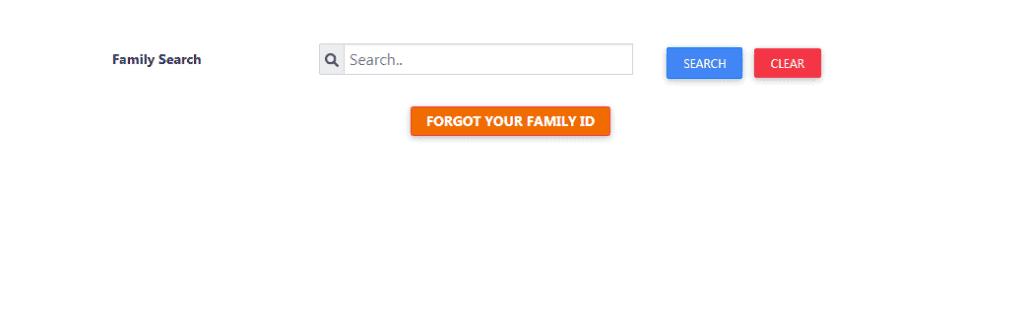 Update Haryana Family ID Card Details