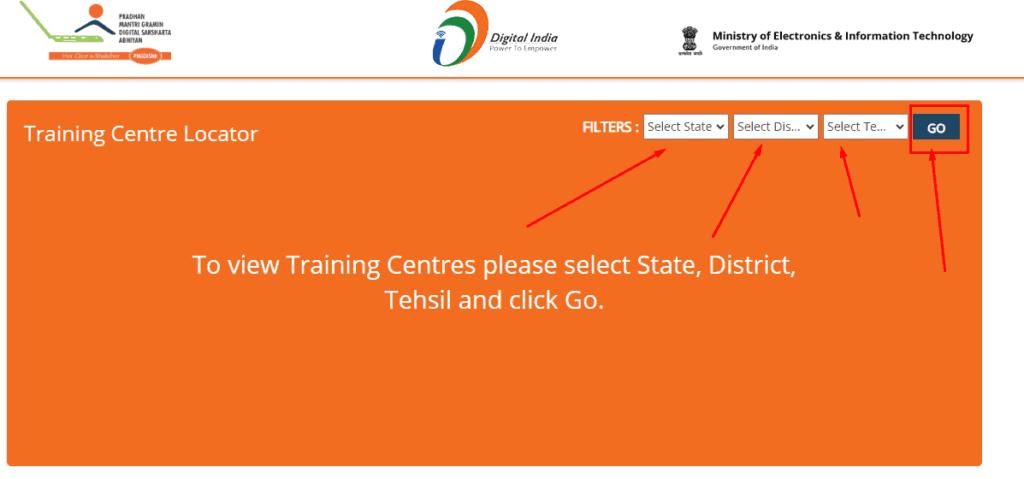 search training centre