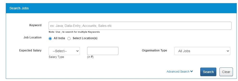 NCS Find Job