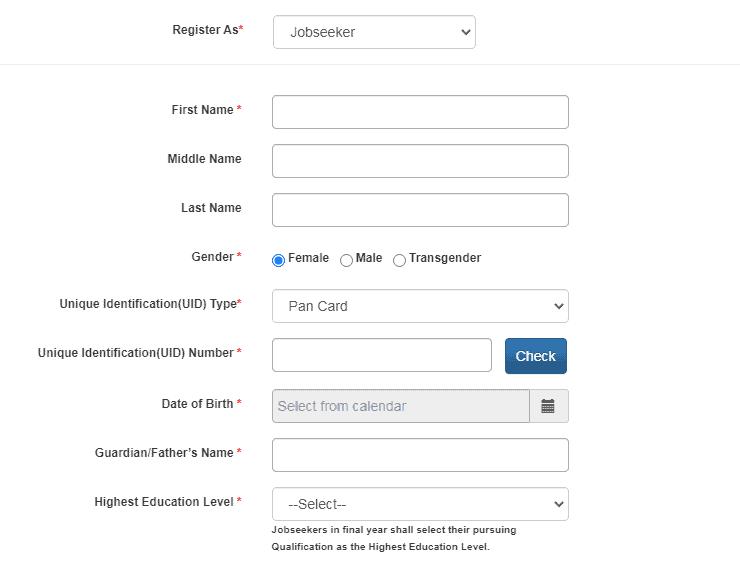NCS Registration Form