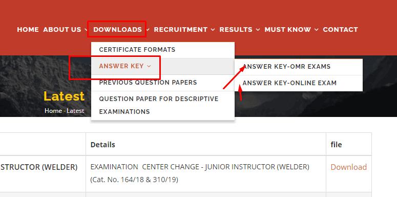 kerala psc thulasi answer key