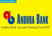 Andhra bank account opening form_1