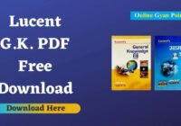 lucent GK book pdf free download