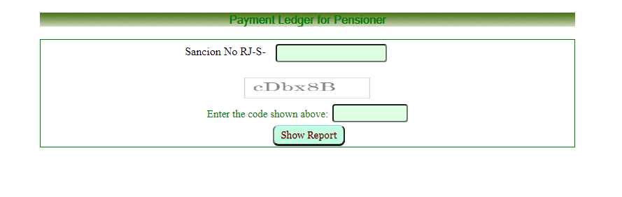 pensioners payment register