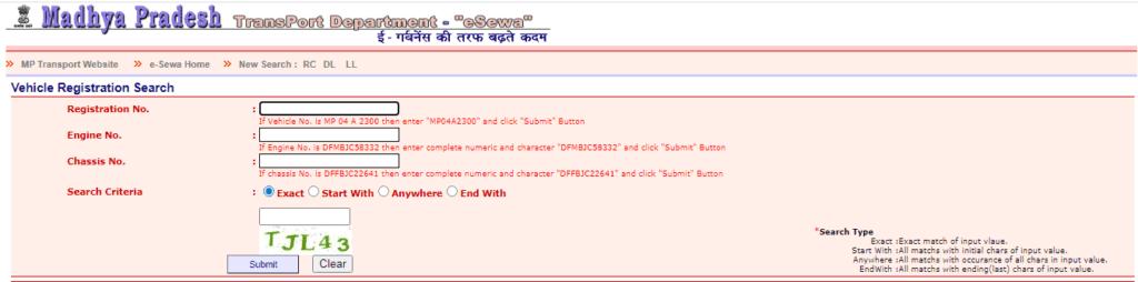 mp rto registration portal