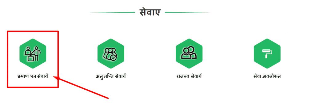 cg domicile certificate apply online