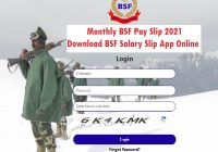 Monthly BSF Pay Slip 2021 Download App