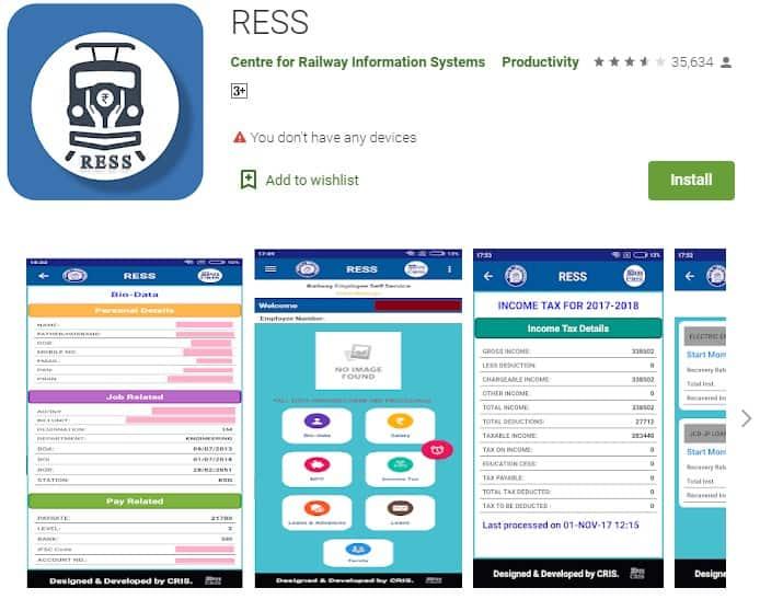 RESS Mobile App